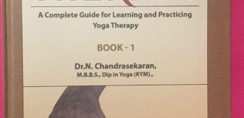 YOGA THERAPY TEXT BY DR NC NOW BACK IN STOCK